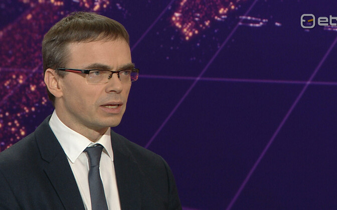 Foreign minister Sven Mikser (SDE).