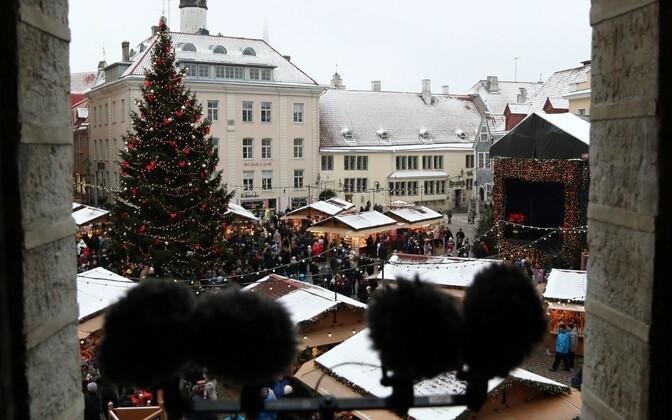 Таави Аас провозгласил рождественский мир в Таллинне