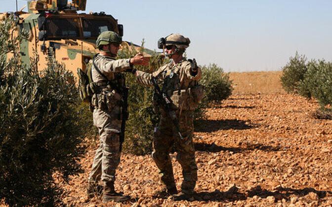Sõdurid Manbijis
