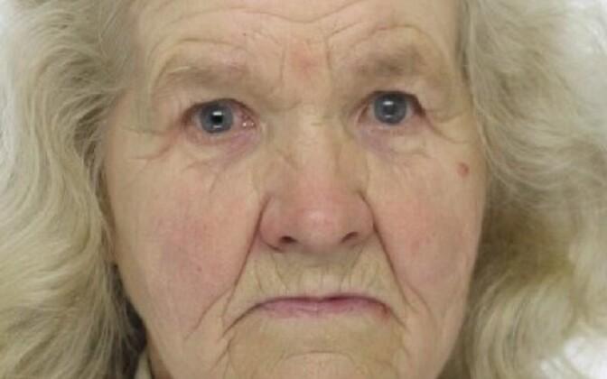 Пропавшая 81-летняя жительница Пайде.