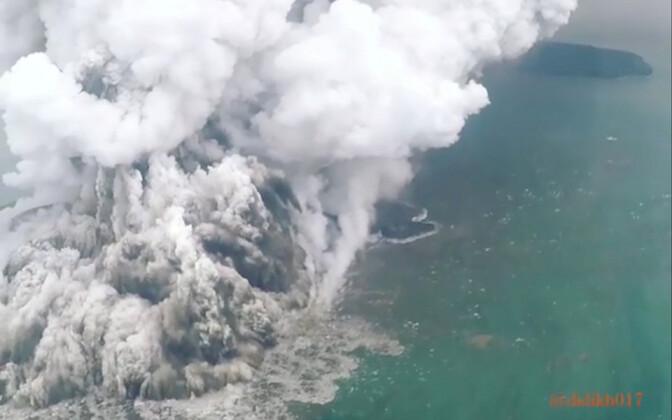 Anak Krakatau 23. detsembril.
