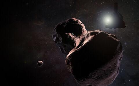 New Horizonsi möödalend Ultima Thulest kunstniku nägemuses.