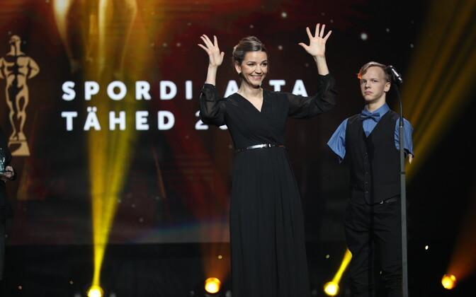 Marja-Liisa Landar ja taamal Matz Topkin.