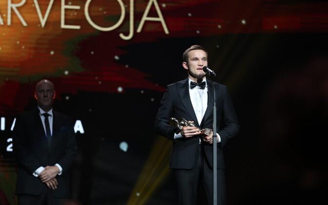 Auhinna võttis vastu Martin Järveoja.