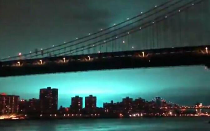 Valgus New Yorgi kohal 27. detsembril.