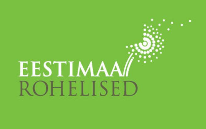 Estonian Greens logo.