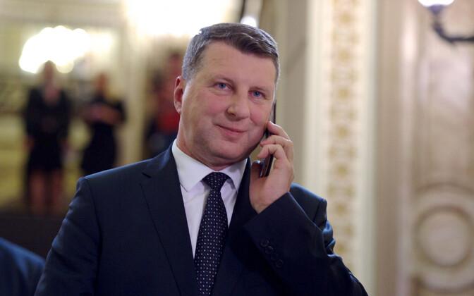 Läti president Raimonds Vējonis.