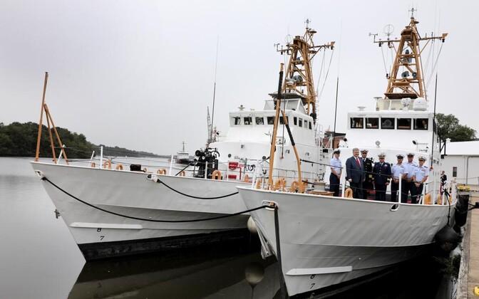 Laevade üleandmise tseremoonia baltimore'is 2018. aasta septembris.