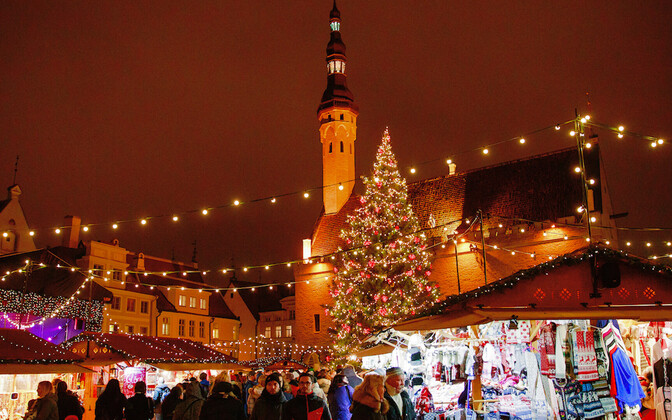 Tallinn's Christmas Market will open in the Old Town on Friday.