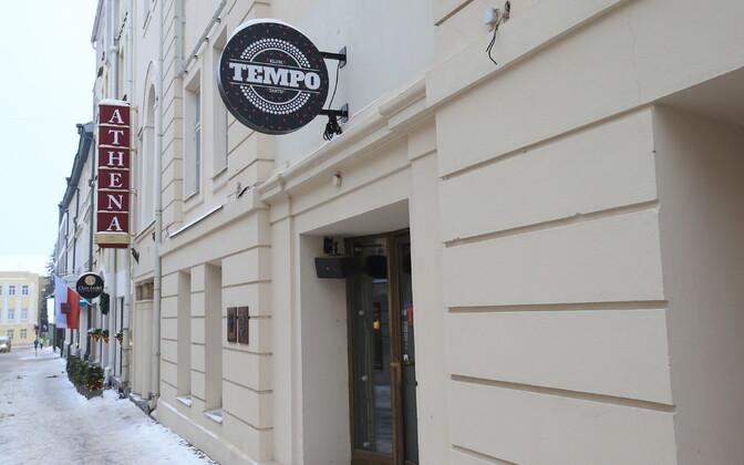 Tartu Athena keskus, kus varem tegutses restoran Volga.
