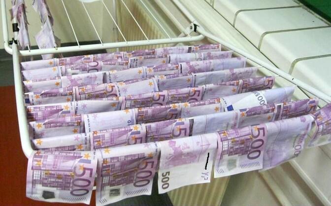500-euroseid armastavad eelkõige kurjategijad
