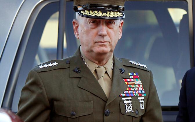 Ametist lahkuv USA kaitseminister James Mattis