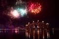 Uue aasta ilutulestik Dubai, Araabia Ühendemiraatide kohal.