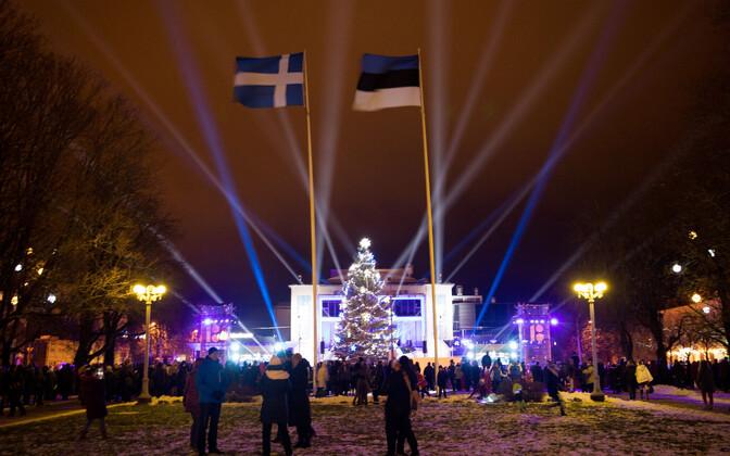 President Kersti Kaljulaid edastas tänavuse uusaastatervituse Pärnust