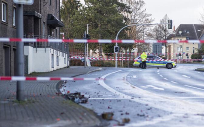 Politsei rünnakupaigal.