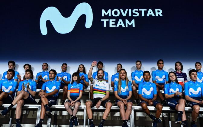 Team Movistar esitles nii mees- kui ka naiskonda