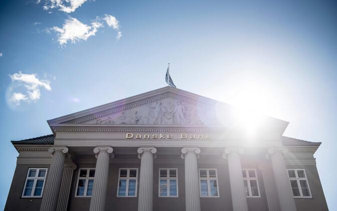 Danske Bank's head branch in Copenhagen, Denmark.