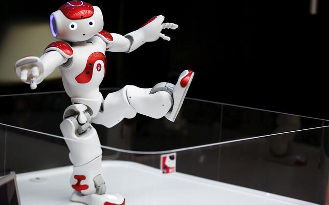 Inimkujuline robot Nao.