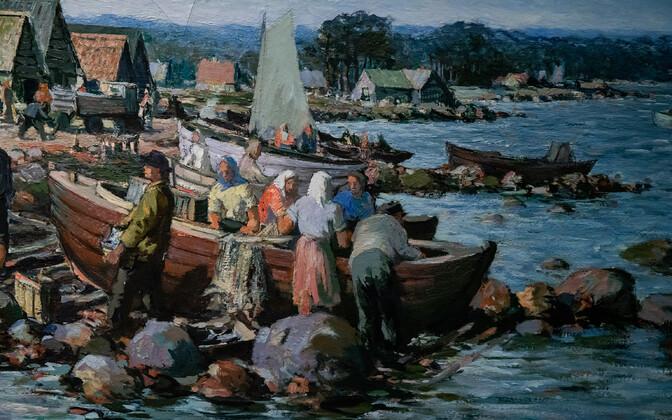 Tretjakovi Uus galerii Moskvas, näitus