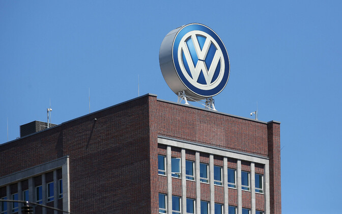 Volkswageni Wolfsburgi tehase peahoone.