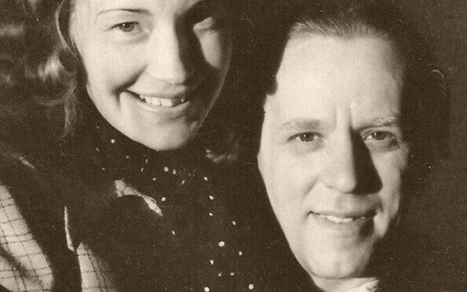 Konstantin Leisik koos abikaasa Fernandega.