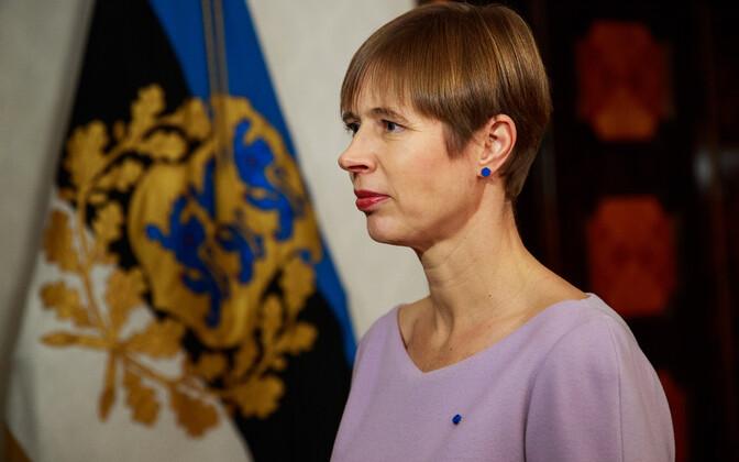 Президент Эстонии Керсти Кальлайд в 2018 году совершила 35 зарубежных визитов.