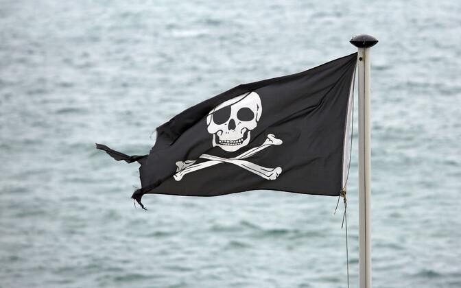 Флаг морских пиратов. Иллюстративное фото