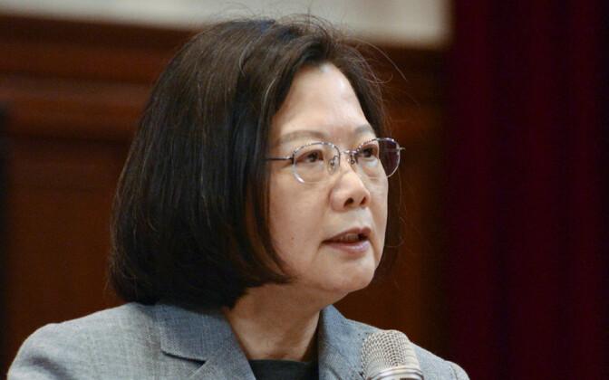 Президент Тайваня Цай Инвэнь.