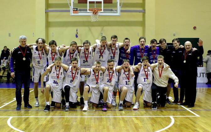 Võidukas Eesti U-16 korvpallikoondis