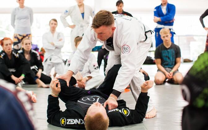 Eesti MMA ja BJJ laager 2017. aastal