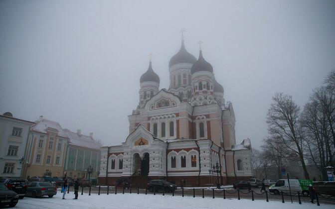 Õigeusklik jõulujumalateenistus Aleksander Nevski katedraalis