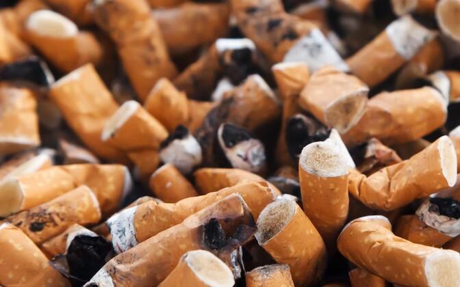 Курильщиков в Эстонии становится все меньше.
