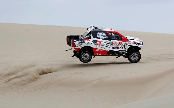 Nasser Al-Attiyah ja  Matthieu Baumel olid Dakari ralli avapäeval kiireimad