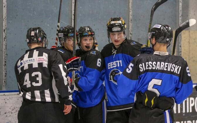 Eesti U-20 koondise mängijad
