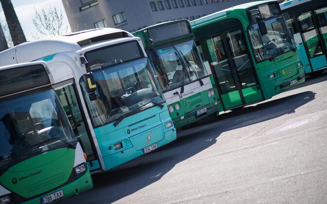 Tallinna praegused bussid