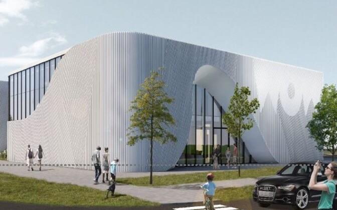 Центр откроется 1 мая 2020 года.