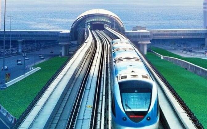 Joonistus Helsingi ja Tallinna vahelise tunnelist. Selle rahastusmudel erineks Taani ja Saksamaa vahelisest tunnelist.