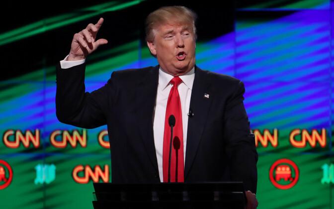Donald Trump 2016. aastal presidendikandidaatide debatis CNN-is.