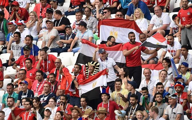 Egiptuse jalgpallifännid