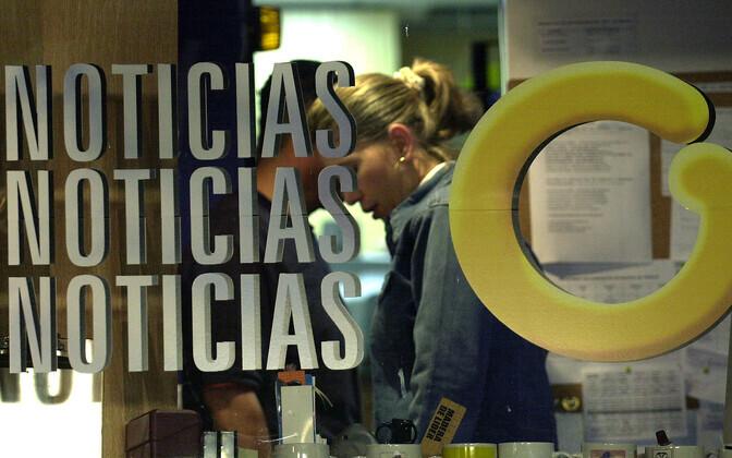Venezuela uudistekanali Glbovision logo uksel.