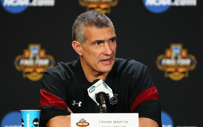 South Carolina peatreener Frank Martin