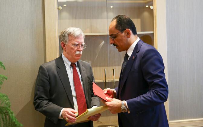 John Bolton ja Ibrahim Kalin 8. jaanuaril Ankaras.