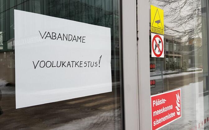 Elektrikatkestus Kuressaares.