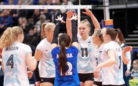 Женская сборная Эстонии по волейболу.