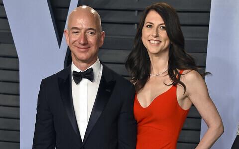 Jeff ja MacKenzie Bezos 2018. aasta märtsis.