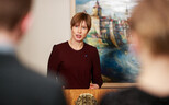 President Kersti Kaljulaid requested a meeting with Vladimir Putin later this month.