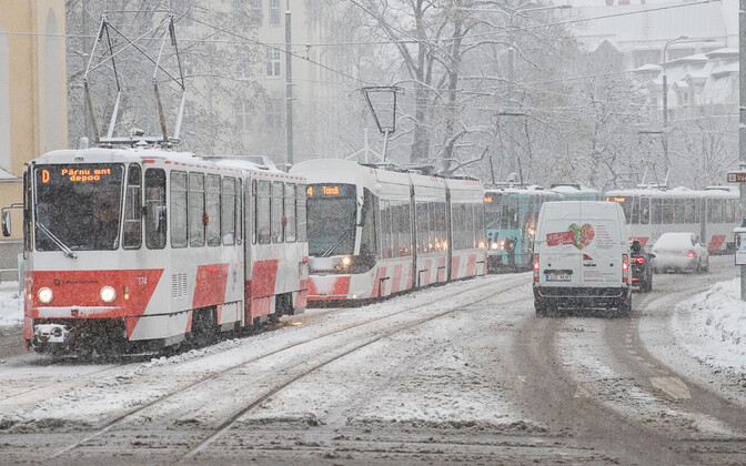 Centre envisions Tallinn's free public transport being extended to all Estonian residents, similar to the free public county bus lines elsewhere in the country.