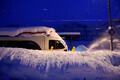Снегопад в Южной Германии
