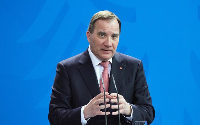 Rootsi (senine) peaminister Stefan Löfven.