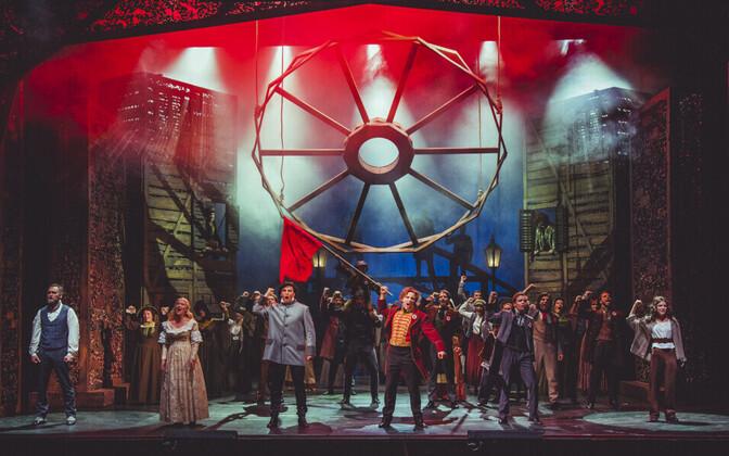 2018. aasta populaarseim lavastus Vanemuise teatris oli muusikal